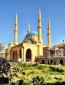 Amazing Mohammad Al-Amin Mosque in the middle of Beirut