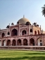 Amidst the despair and poverty you come across such beauty. This is King Humayun's tomb.