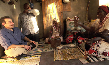 Go behind-the-scenes as Steven visits a traditional healer